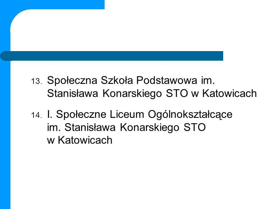 Społeczna Szkoła Podstawowa im. Stanisława Konarskiego STO w Katowicach