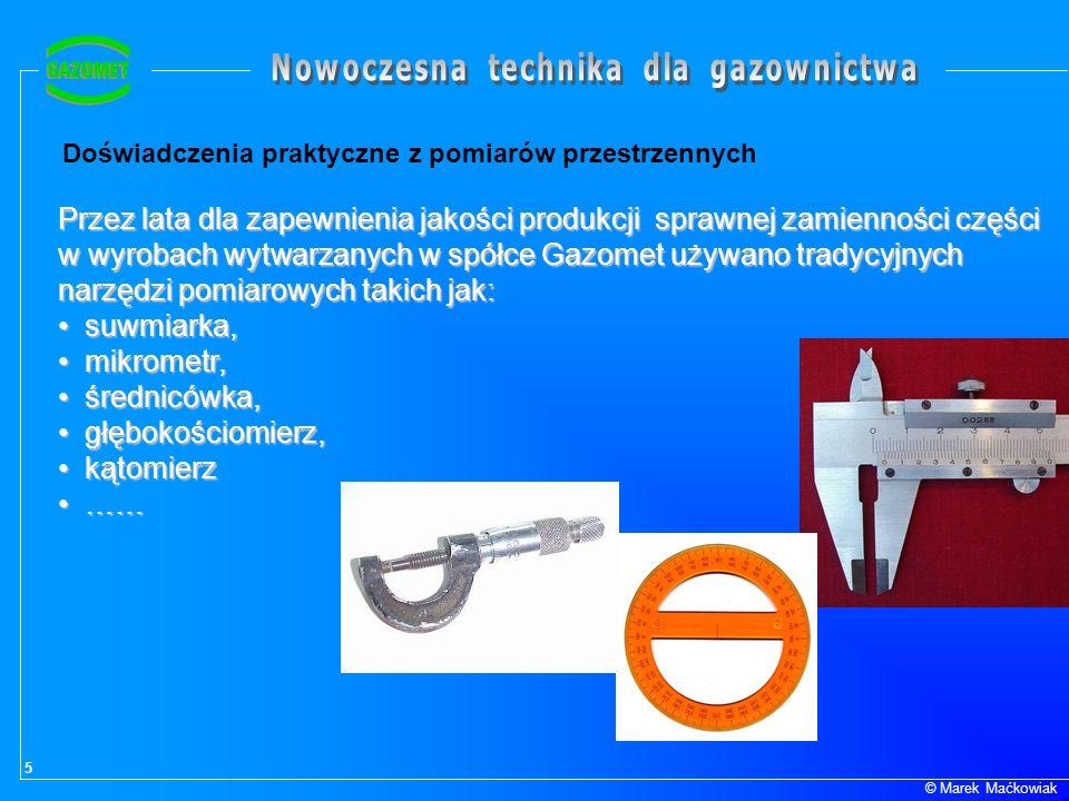 w wyrobach wytwarzanych w spółce Gazomet używano tradycyjnych