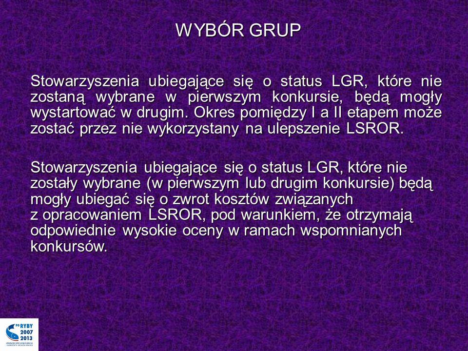 WYBÓR GRUP