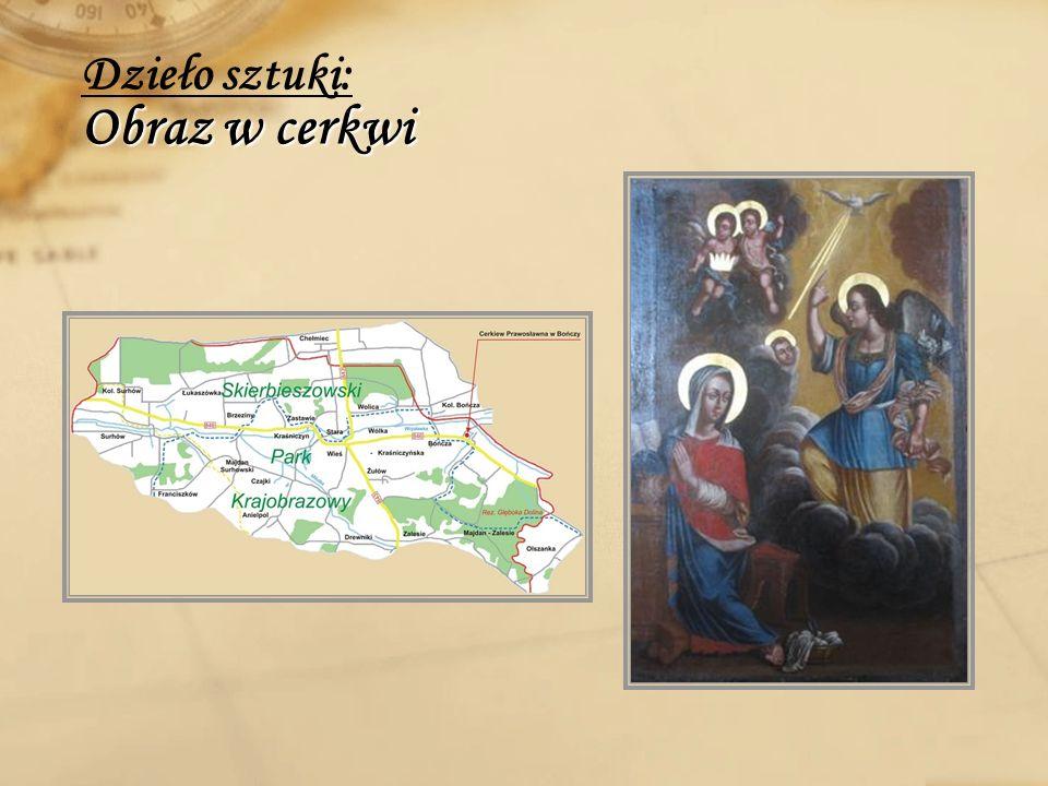 Dzieło sztuki: Obraz w cerkwi