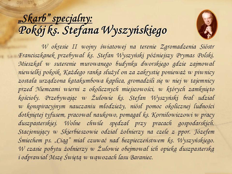 """""""Skarb specjalny: Pokój ks. Stefana Wyszyńskiego"""