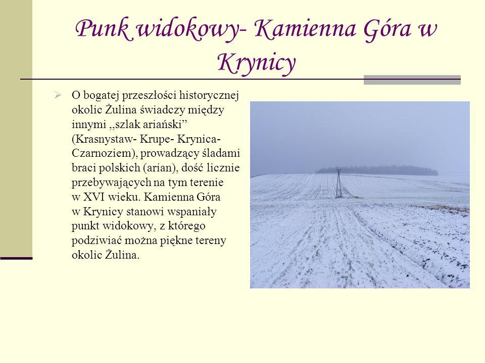 Punk widokowy- Kamienna Góra w Krynicy