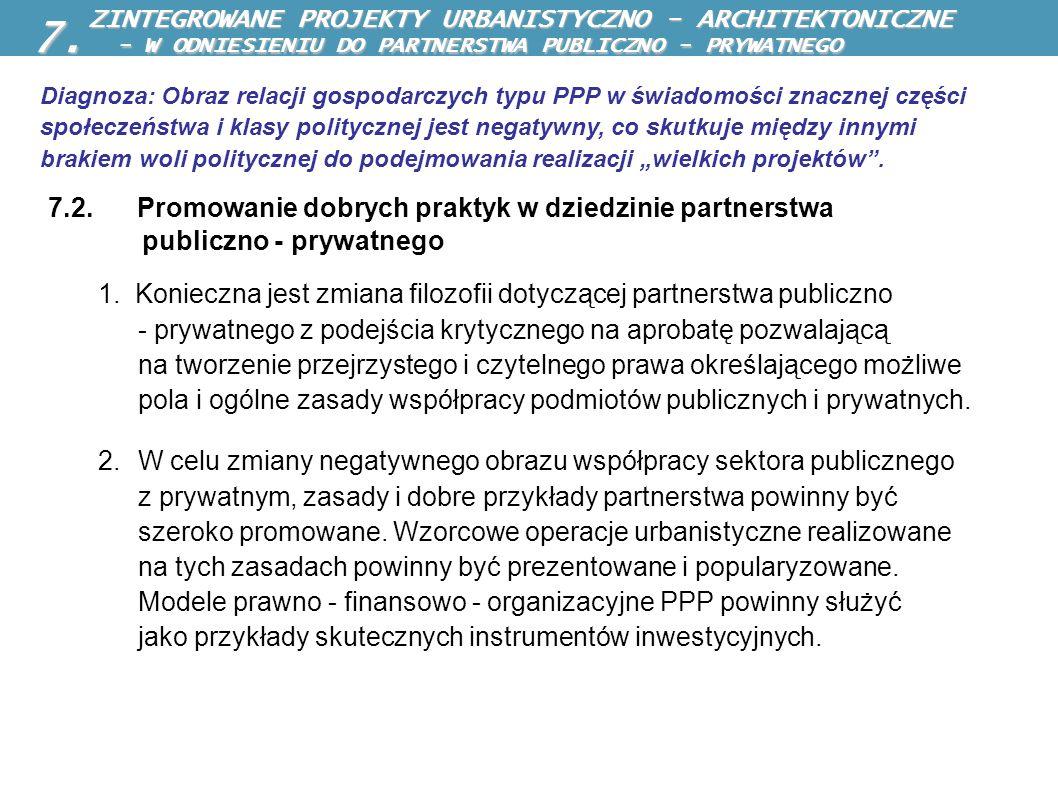 7. - W ODNIESIENIU DO PARTNERSTWA PUBLICZNO - PRYWATNEGO