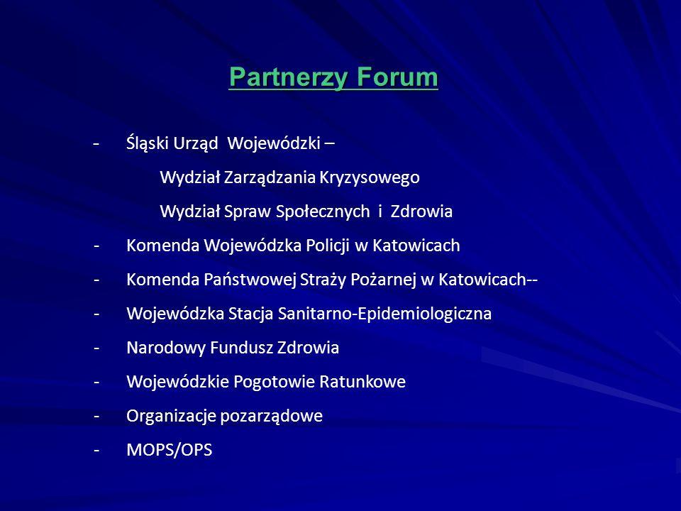 Partnerzy Forum - Śląski Urząd Wojewódzki –