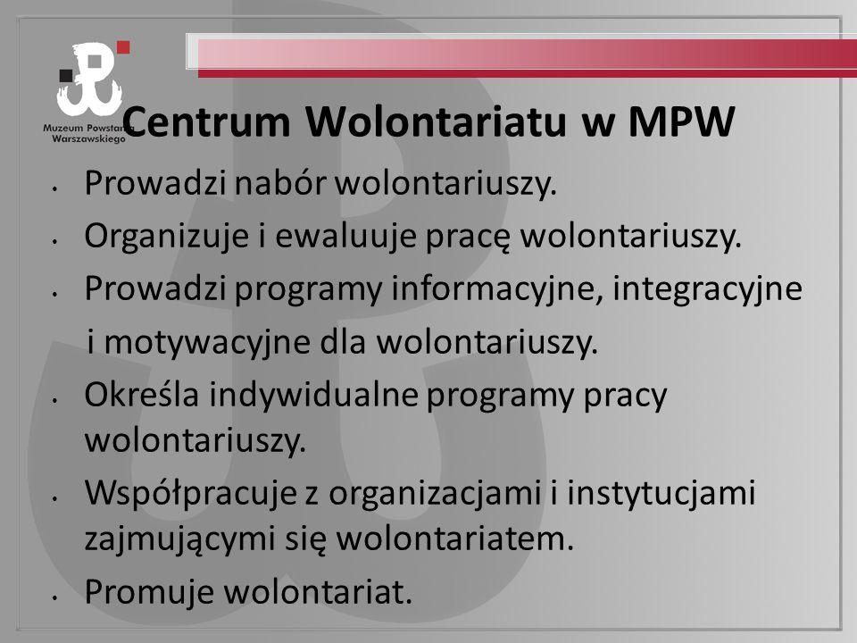 Centrum Wolontariatu w MPW
