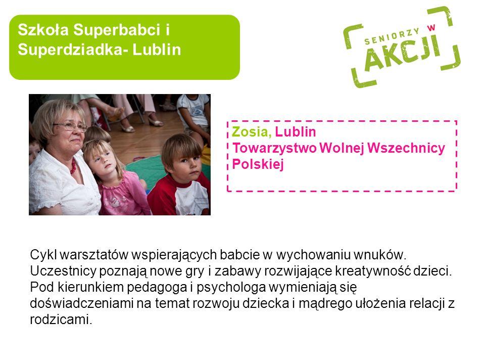Szkoła Superbabci i Superdziadka- Lublin