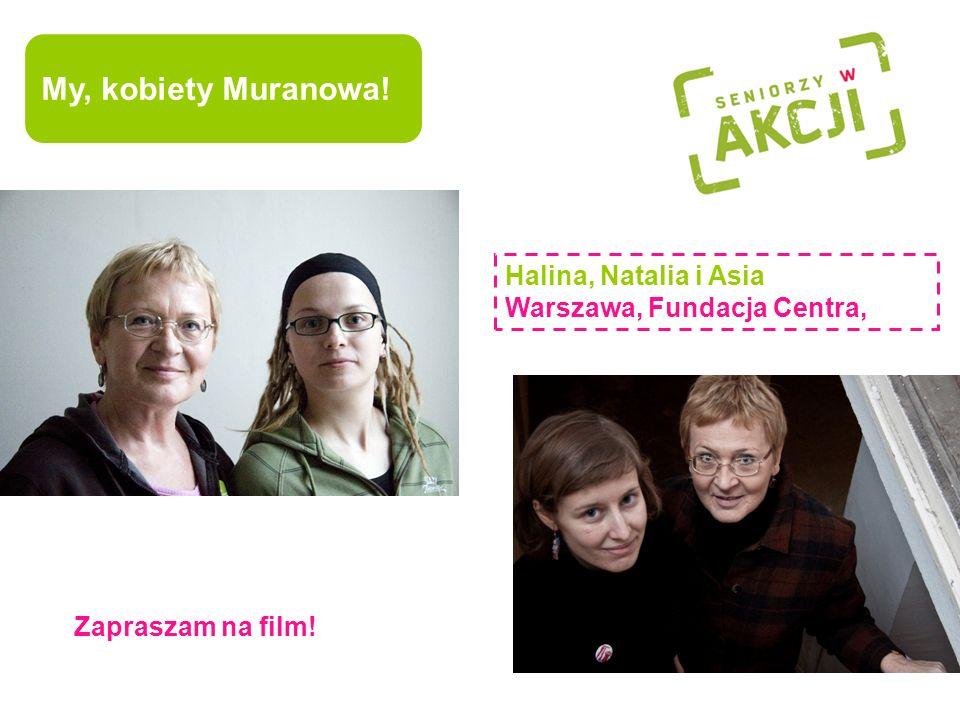 My, kobiety Muranowa! to obszar