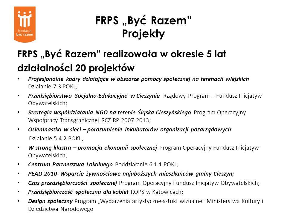 """FRPS """"Być Razem Projekty"""