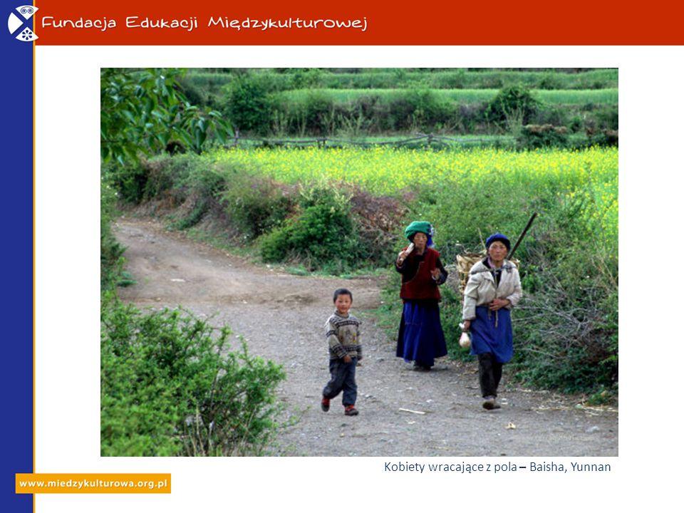 Kobiety wracające z pola – Baisha, Yunnan