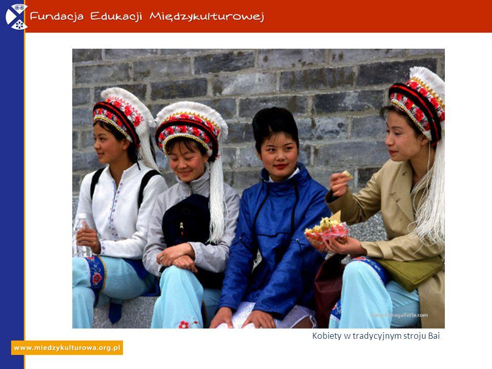 Kobiety w tradycyjnym stroju Bai