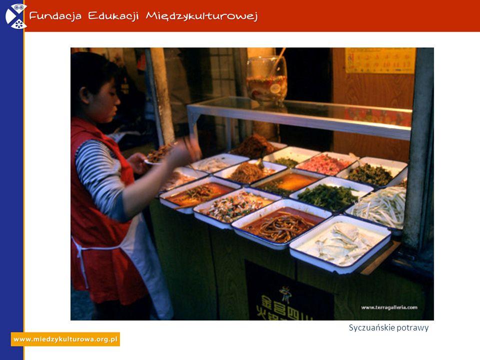 Syczuańskie potrawy