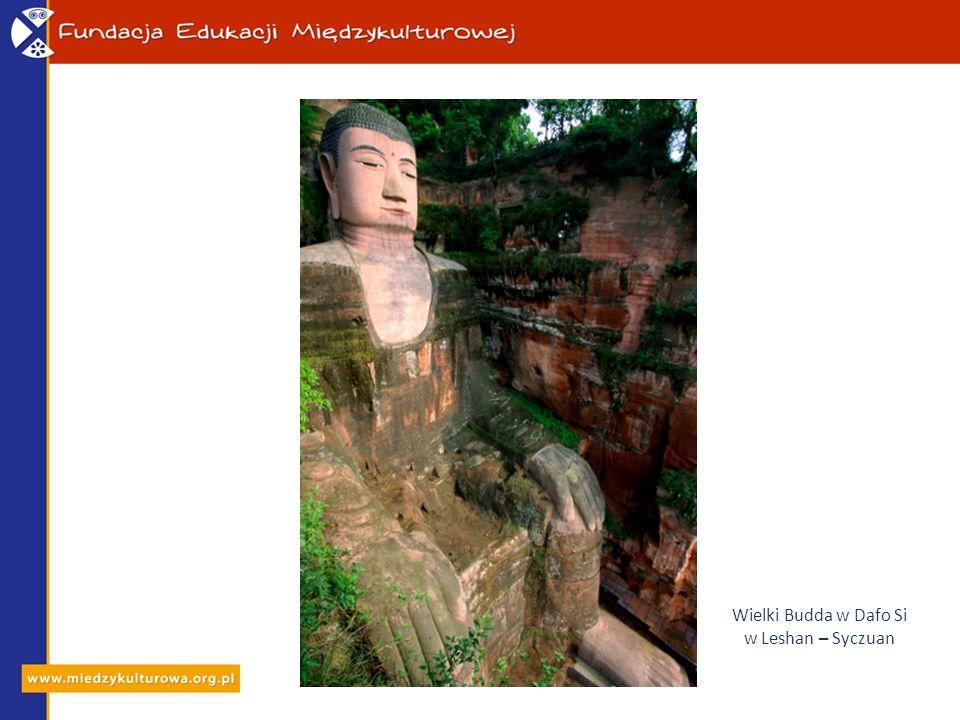 Wielki Budda w Dafo Si w Leshan – Syczuan
