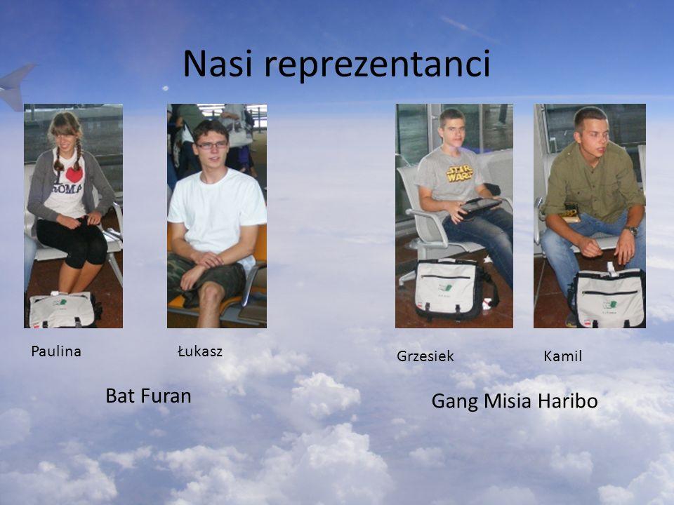 Nasi reprezentanci Bat Furan Gang Misia Haribo Paulina Łukasz