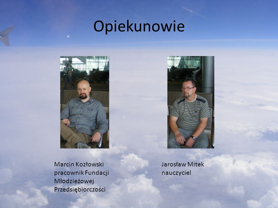 Opiekunowie Marcin Kozłowski