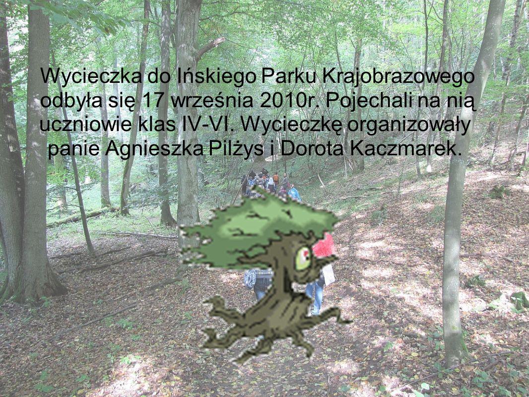 Wycieczka do Ińskiego Parku Krajobrazowego odbyła się 17 września 2010r.