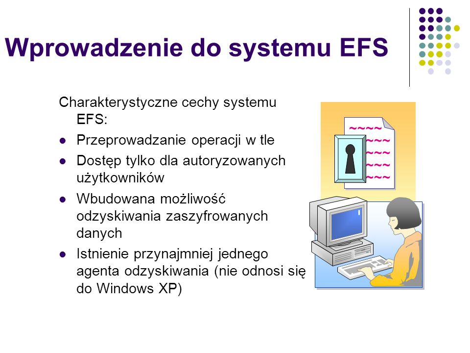 Wprowadzenie do systemu EFS