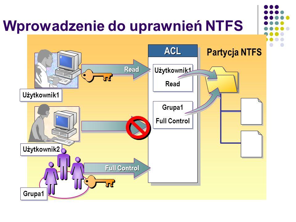 Wprowadzenie do uprawnień NTFS