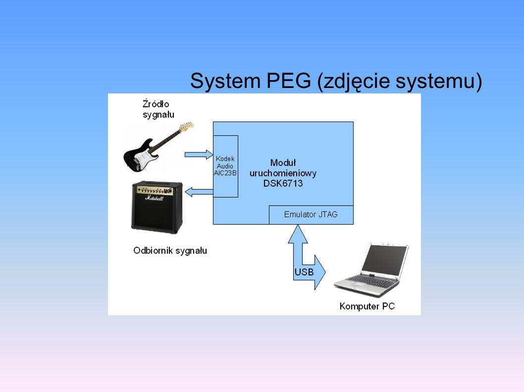 System PEG (zdjęcie systemu)