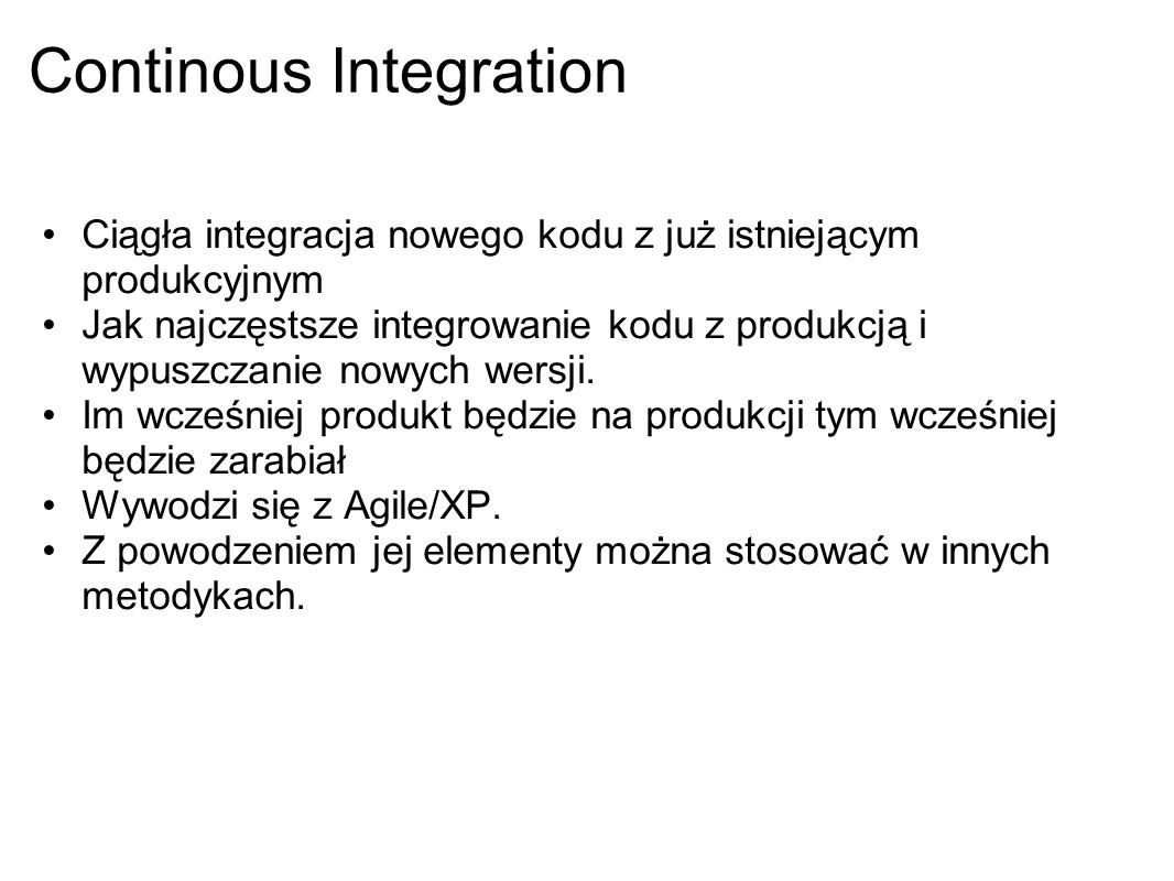 Continous Integration