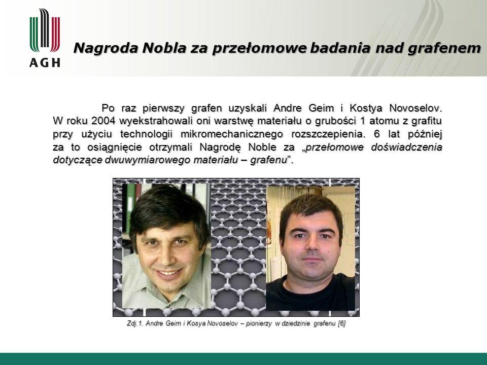 Nagroda Nobla za przełomowe badania nad grafenem