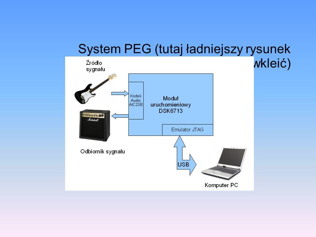 System PEG (tutaj ładniejszy rysunek wkleić)