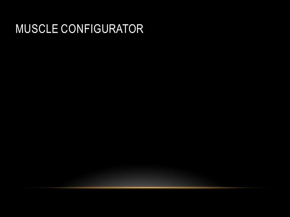 Muscle Configurator