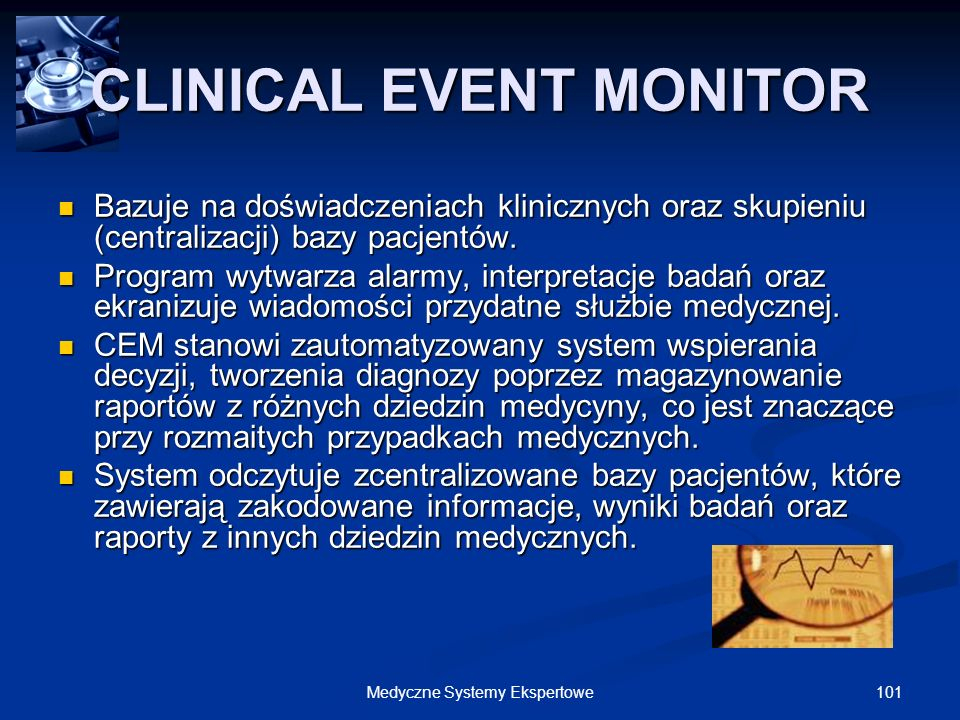 CLINICAL EVENT MONITOR