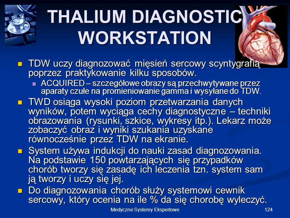 THALIUM DIAGNOSTIC WORKSTATION