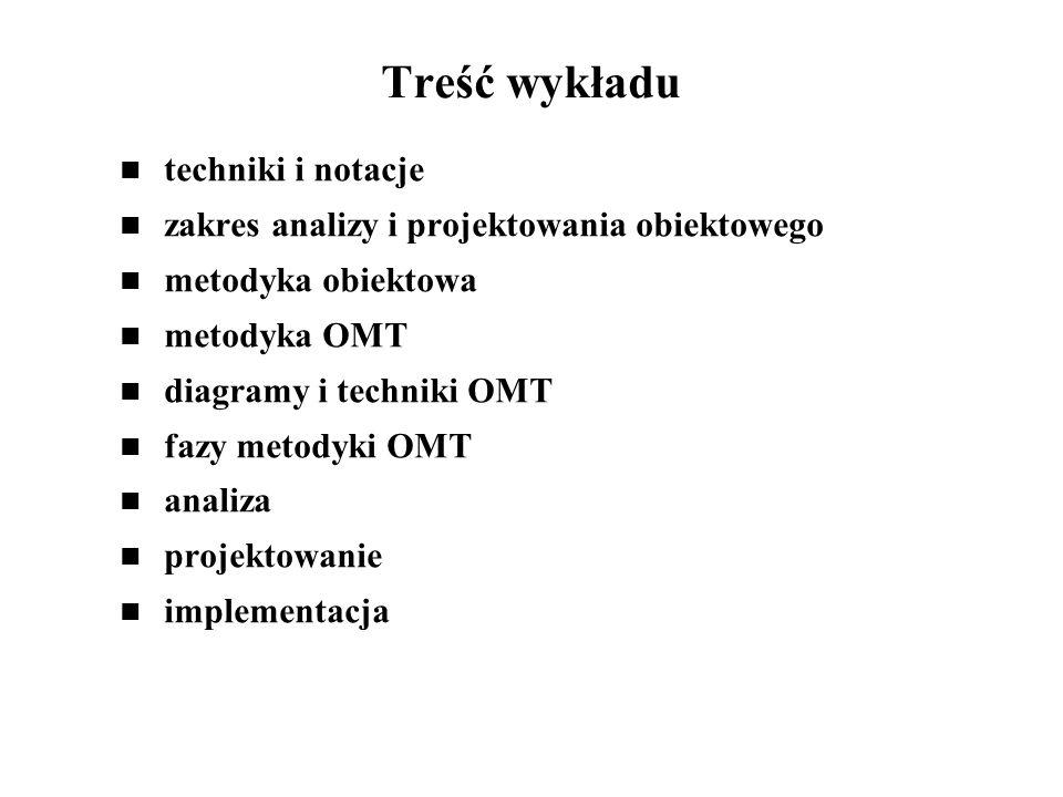 Treść wykładu techniki i notacje