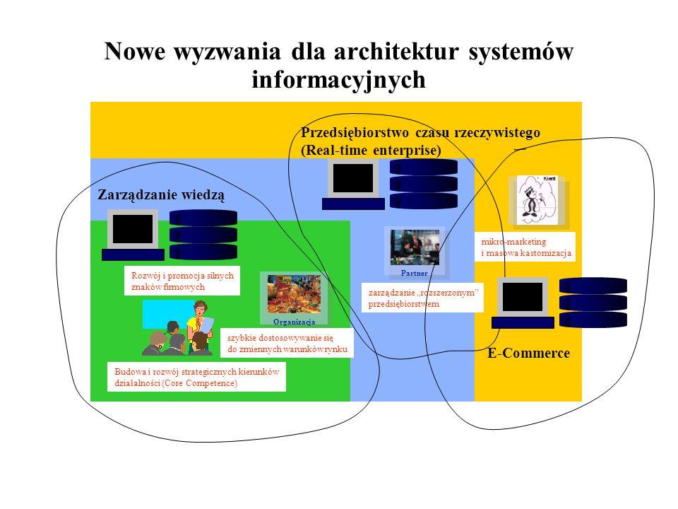 Nowe wyzwania dla architektur systemów informacyjnych