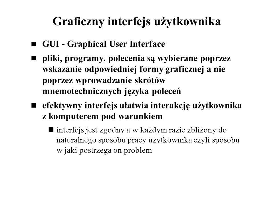 Graficzny interfejs użytkownika