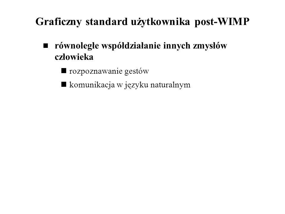 Graficzny standard użytkownika post-WIMP