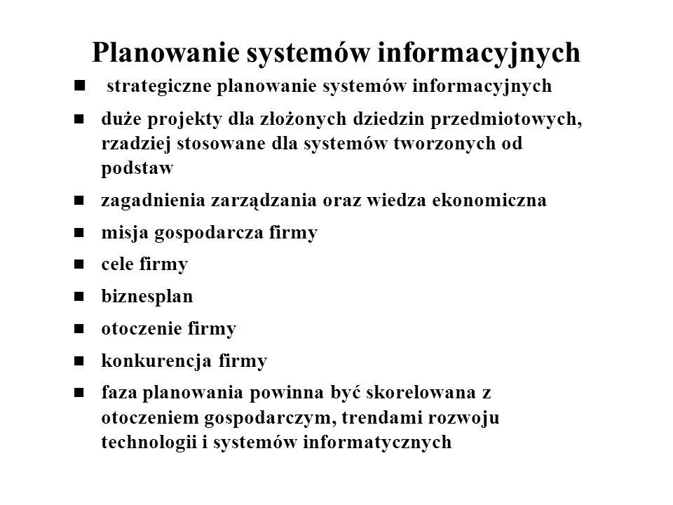 Planowanie systemów informacyjnych