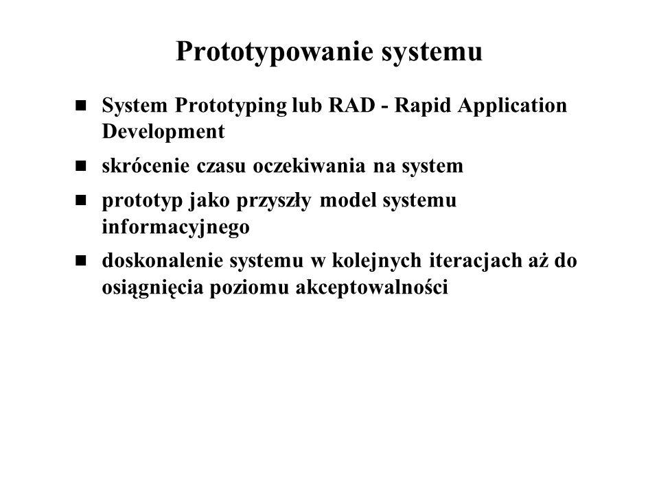 Prototypowanie systemu