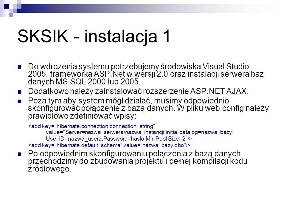 SKSIK - instalacja 1