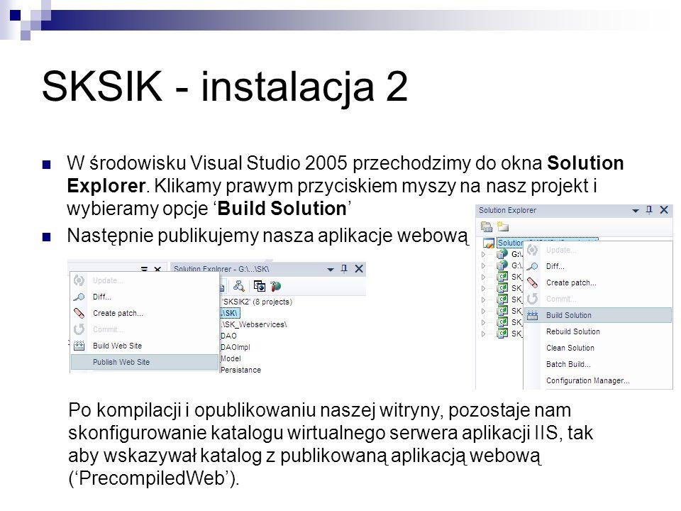 SKSIK - instalacja 2