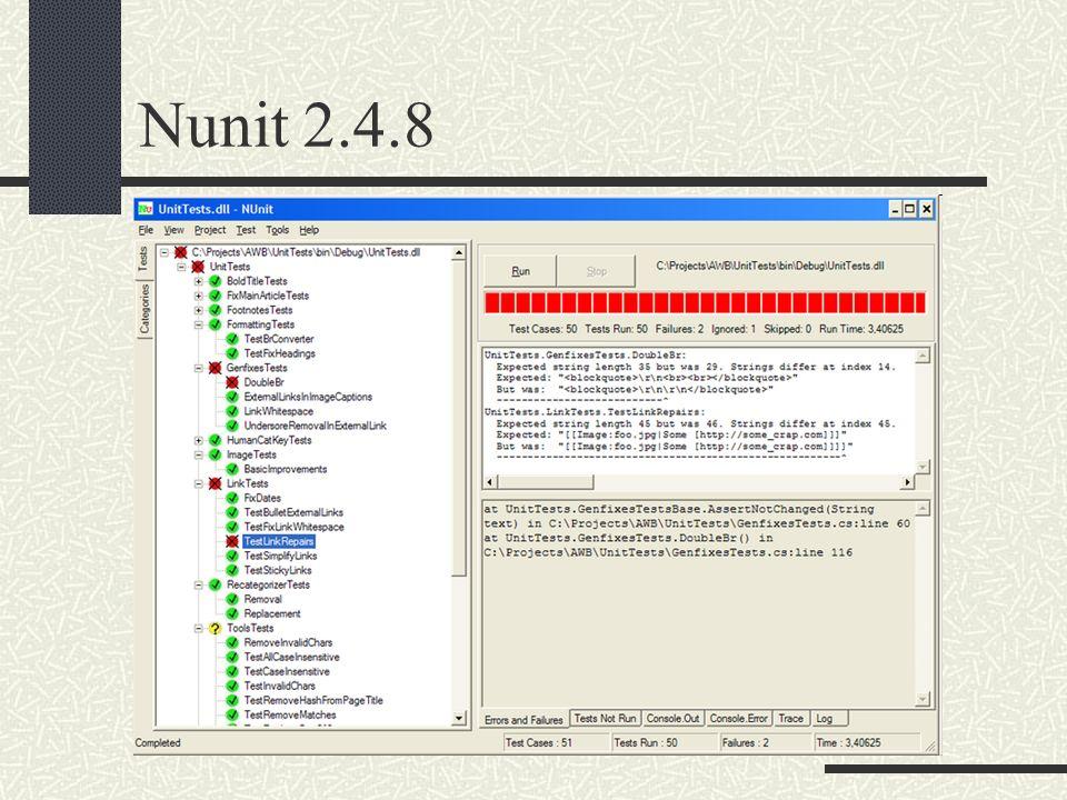 Nunit 2.4.8