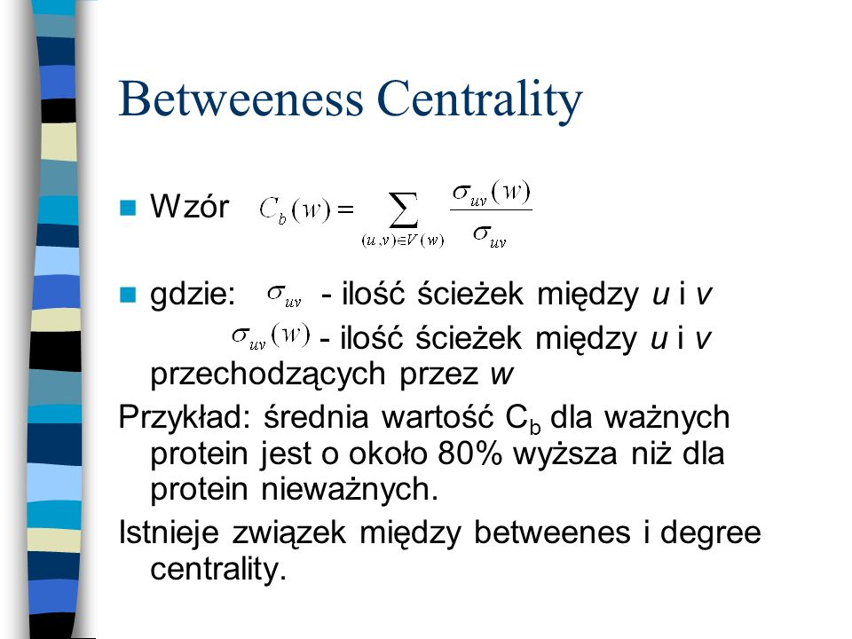 Betweeness Centrality
