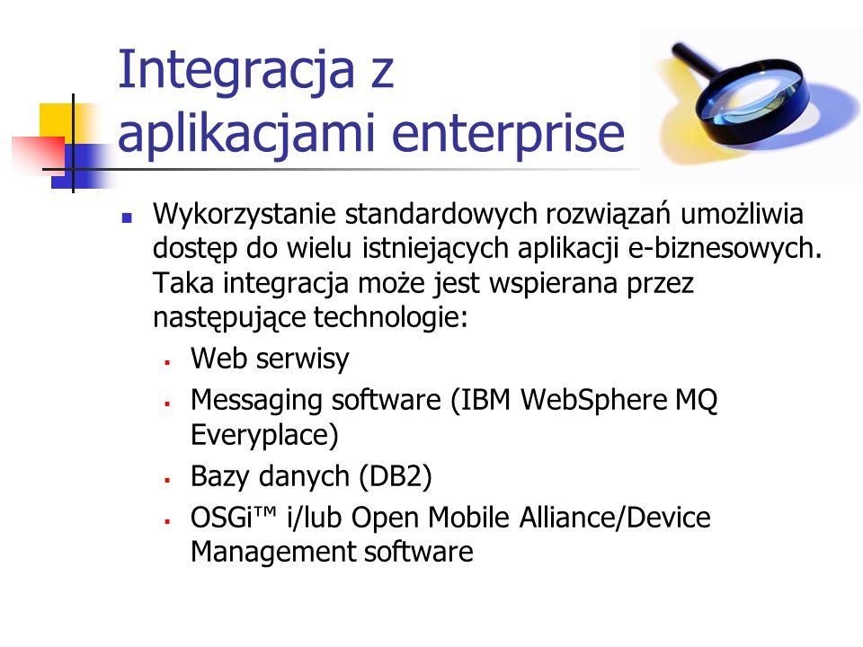 Integracja z aplikacjami enterprise
