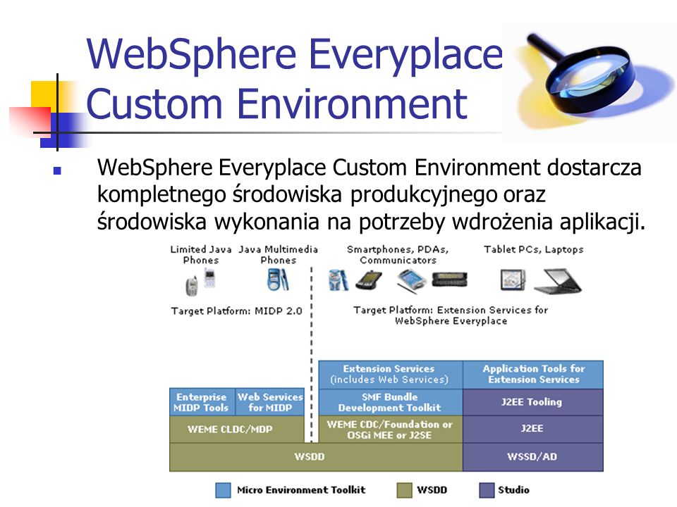 WebSphere Everyplace Custom Environment