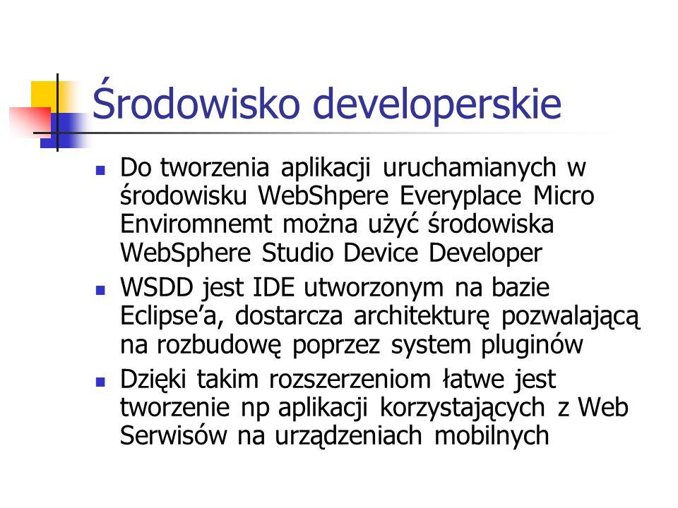 Środowisko developerskie