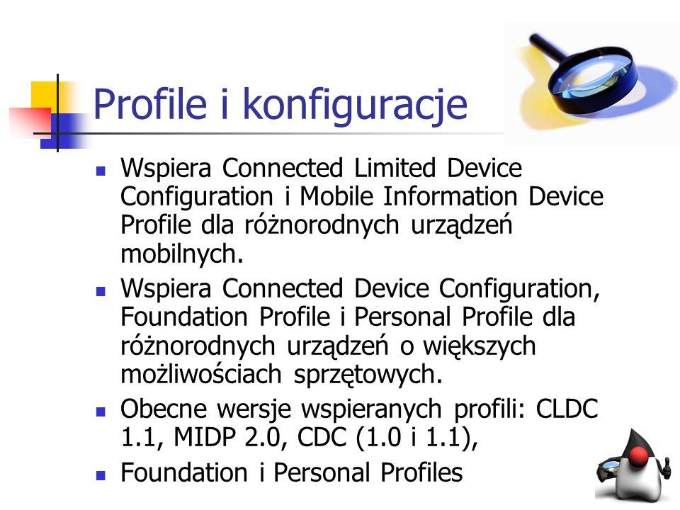 Profile i konfiguracje