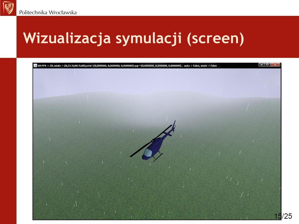Wizualizacja symulacji (screen)
