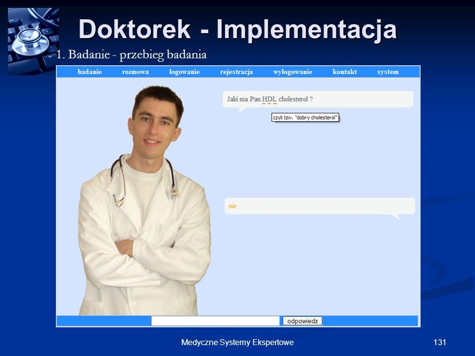 Doktorek - Implementacja