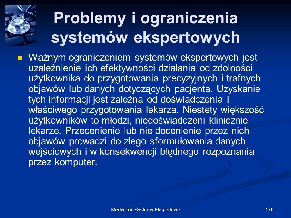 Problemy i ograniczenia systemów ekspertowych
