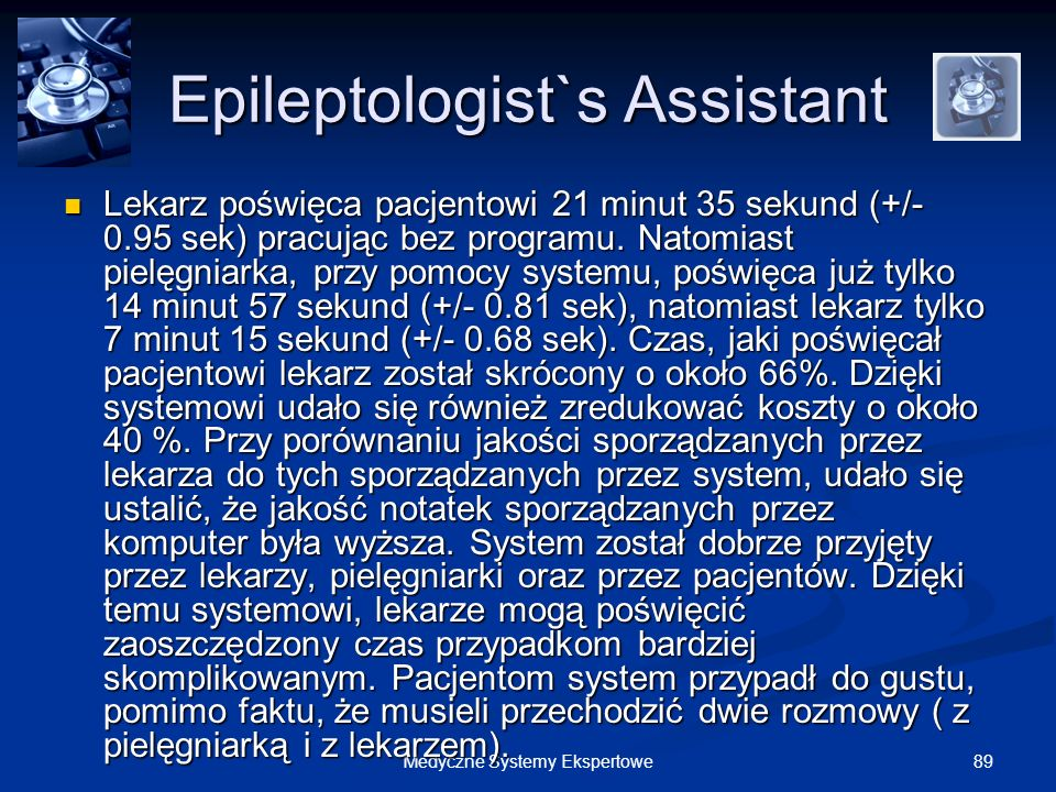Epileptologist`s Assistant