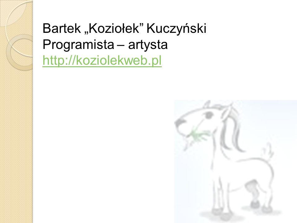 """Bartek """"Koziołek Kuczyński"""