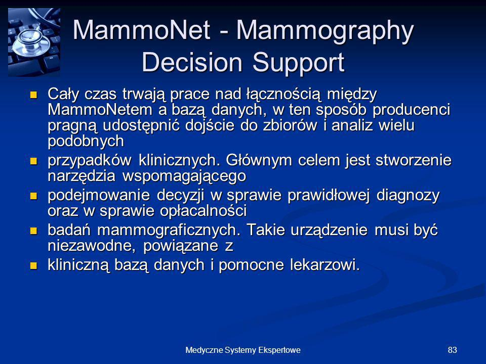 MammoNet - Mammography Decision Support