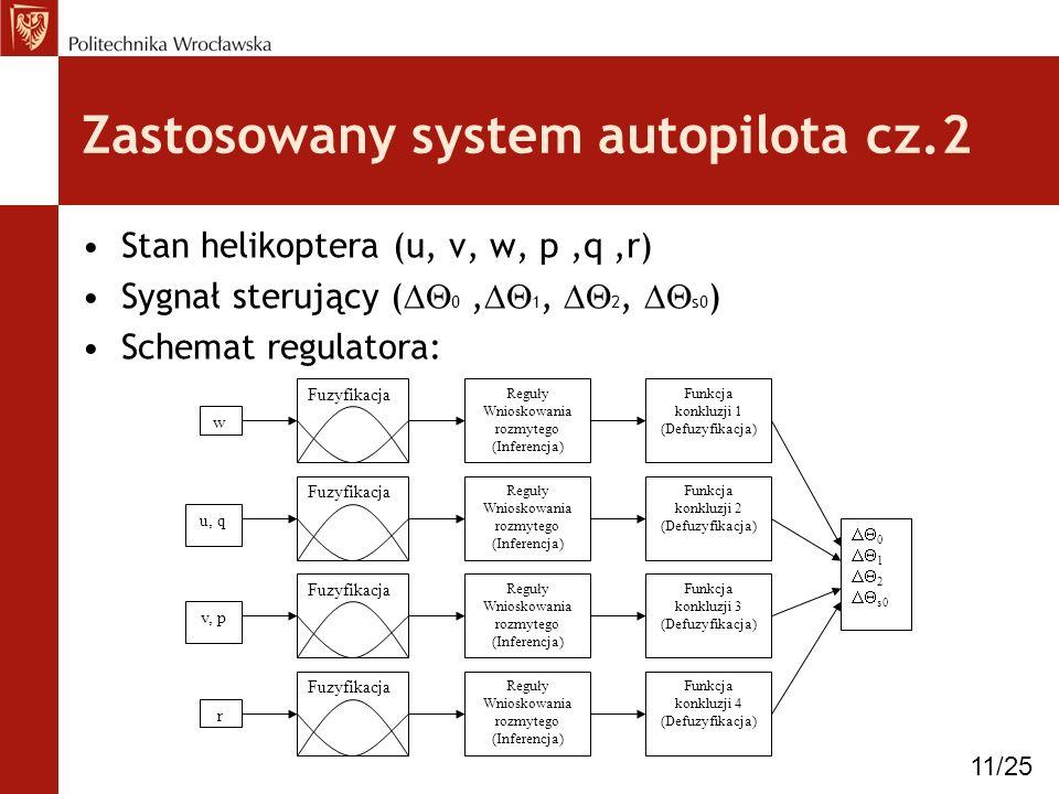 Zastosowany system autopilota cz.2