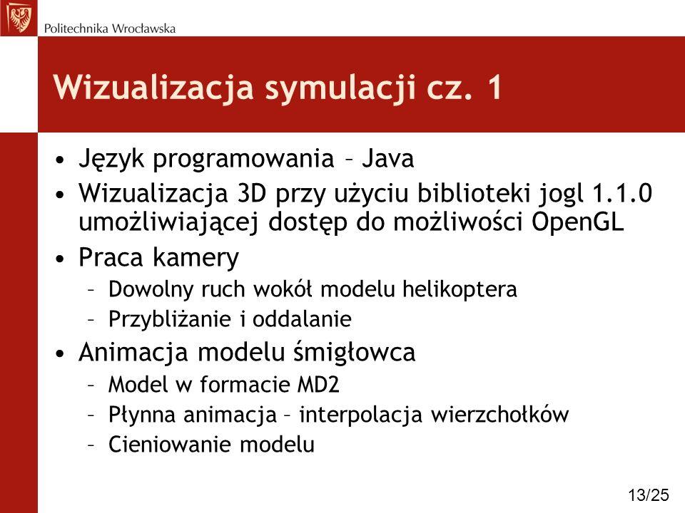 Wizualizacja symulacji cz. 1